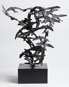 Jarlath Daly, Birds in Flight at Morgan O'Driscoll Art Auctions