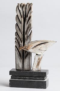 Leo Higgins, Bird and Tree at Morgan O'Driscoll Art Auctions