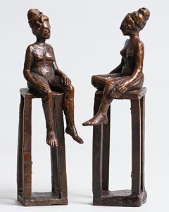 Fran Lambkin, Conversation at Morgan O'Driscoll Art Auctions