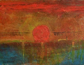Gerard Dillon, Sunset on the Horizon at Morgan O'Driscoll Art Auctions