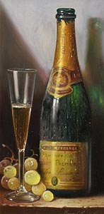 Raymond Campbell, Louis - Roederer Champagne at Morgan O'Driscoll Art Auctions