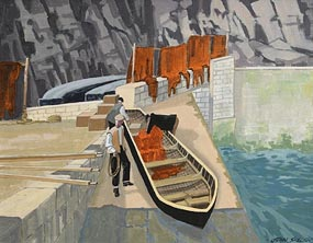 John Skelton, Home Deliveries, Inishmor at Morgan O'Driscoll Art Auctions