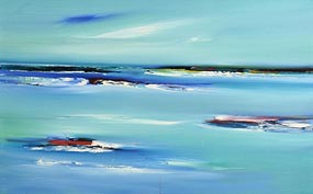 Majella O'Neill Collins, Summer Seas, Sherkin Island (2007) at Morgan O'Driscoll Art Auctions