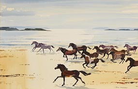 John Skelton, Horses Galloping at Morgan O'Driscoll Art Auctions