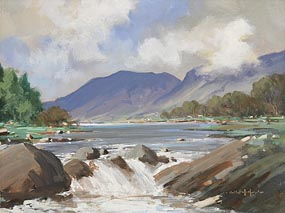 George Gillespie, At Glenorchy at Morgan O'Driscoll Art Auctions