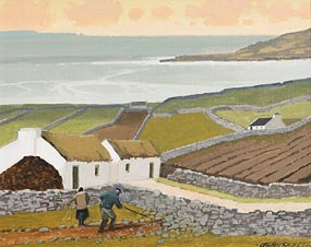 John Skelton, Patchwork, Connemara, Galway at Morgan O'Driscoll Art Auctions