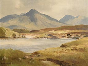 Maurice Canning Wilks, The Ballynahinch River, Co. Galway at Morgan O'Driscoll Art Auctions