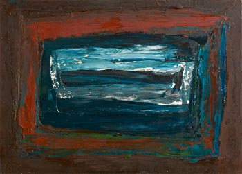 Sean McSweeney, Shoreline Bog Pool at Morgan O'Driscoll Art Auctions