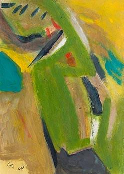 Tony O'Malley, Coastal Landscape at Morgan O'Driscoll Art Auctions