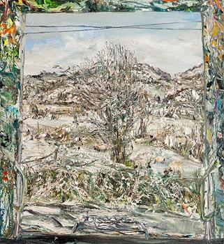 Nick Miller, Whitethorn, Snow (2006) at Morgan O'Driscoll Art Auctions