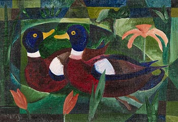 Basil Ivan Rakoczi, Canards at Morgan O'Driscoll Art Auctions