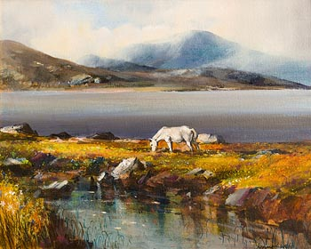 Kenneth Webb, Connemara Pony at Morgan O'Driscoll Art Auctions