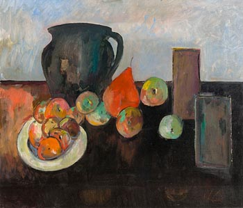 Peter Collis, Still Life on Tabletop at Morgan O'Driscoll Art Auctions