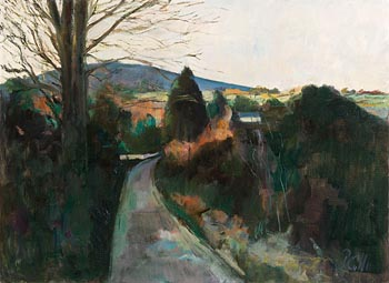 Peter Collis, The Roundwood, Enniskerry Road at Morgan O'Driscoll Art Auctions