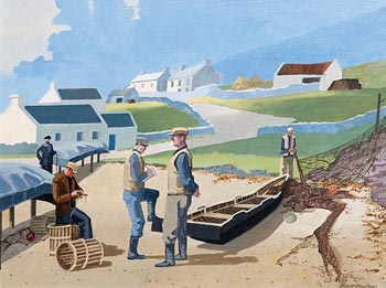 John Skelton, Network, Inishmor, Aran at Morgan O'Driscoll Art Auctions
