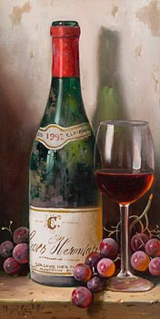 Raymond Campbell, Crozes Hermitage 1992 at Morgan O'Driscoll Art Auctions