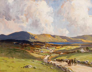 James Humbert Craig, Bringing Home the Cows at Morgan O'Driscoll Art Auctions