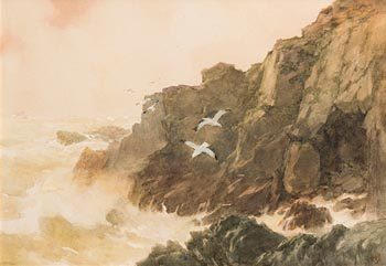 Helen Sophie O'Hara, On the Coast, Co Waterford at Morgan O'Driscoll Art Auctions