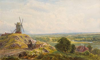 John Faulkner, The Mill of the Plains at Morgan O'Driscoll Art Auctions