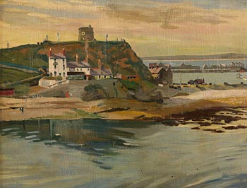Harry Aaron Kernoff, Howth Harbour, Evening at Morgan O'Driscoll Art Auctions
