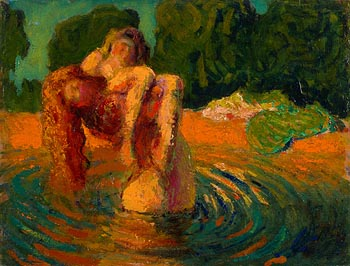 Roderic O'Conor, Figures in a Pool (1898-1900) at Morgan O'Driscoll Art Auctions