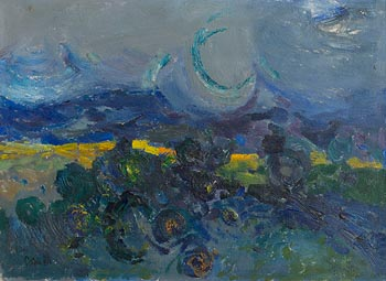 Colin Middleton, Evening, Castlewellan (1964) at Morgan O'Driscoll Art Auctions