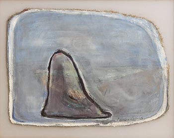 Patrick Collins, Menhir on the Plain I at Morgan O'Driscoll Art Auctions