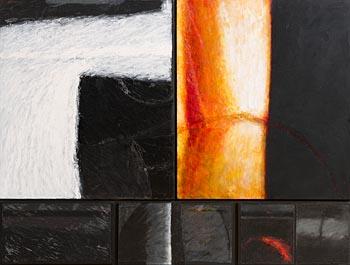 John Shinnors, St. John's Night, Carraroe, Inishmor at Morgan O'Driscoll Art Auctions