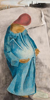 Patrick Pye, The Virgin of St. John of the Cross (1953) at Morgan O'Driscoll Art Auctions