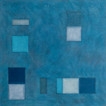 Felim Egan, Ocean - Blue (2010) at Morgan O'Driscoll Art Auctions