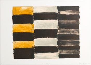Sean Scully, Paris Black (2004) at Morgan O'Driscoll Art Auctions