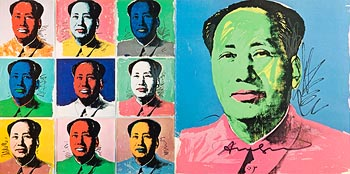 Andy Warhol, Mao Tse-Tung (Announcement)(Not in F.& S.) at Morgan O'Driscoll Art Auctions