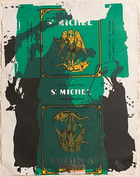Robert Motherwell, St. Michel III (1979) at Morgan O'Driscoll Art Auctions
