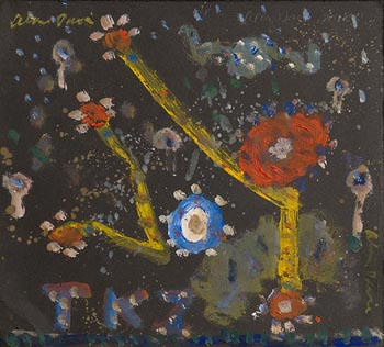 Alan Davie, TKZ by Night (2012) at Morgan O'Driscoll Art Auctions