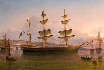 George Mounsey Atkinson, The Eugenie Off Queenstown (1887) at Morgan O'Driscoll Art Auctions