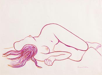Gerard Dillon, Reclining Female Nude at Morgan O'Driscoll Art Auctions