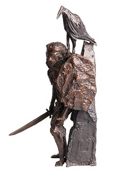John Behan, C�chulainn (2017) at Morgan O'Driscoll Art Auctions
