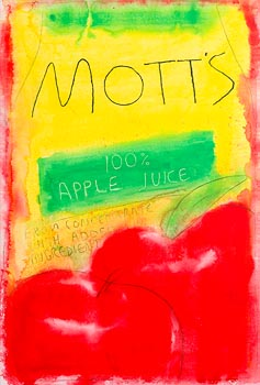 Neil Shawcross, Apple Juice (2004) at Morgan O'Driscoll Art Auctions