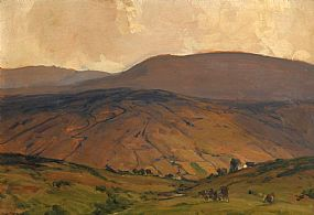 James Humbert Craig, Ora Mountain, Cushendun at Morgan O'Driscoll Art Auctions