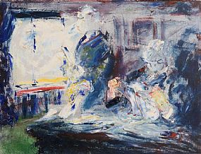 Jack Butler Yeats, Business (1949) at Morgan O'Driscoll Art Auctions