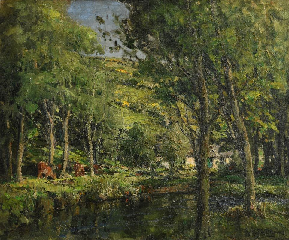 James Humbert Craig, Glendun, Co. Antrim (1943) at Morgan O'Driscoll Art Auctions