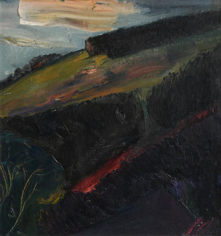 Peter Collis, The Glen at Morgan O'Driscoll Art Auctions