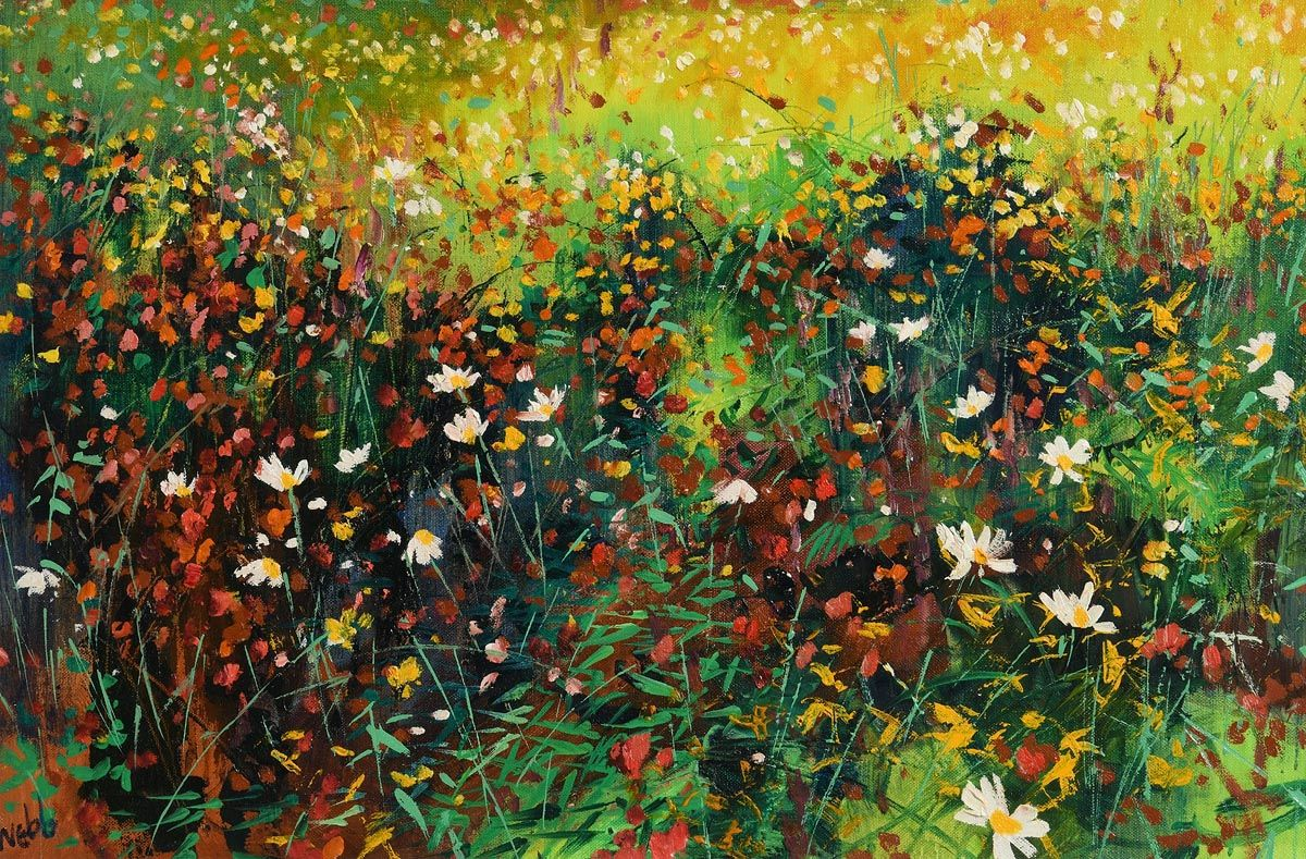 Kenneth Webb, Field Flowers at Morgan O'Driscoll Art Auctions