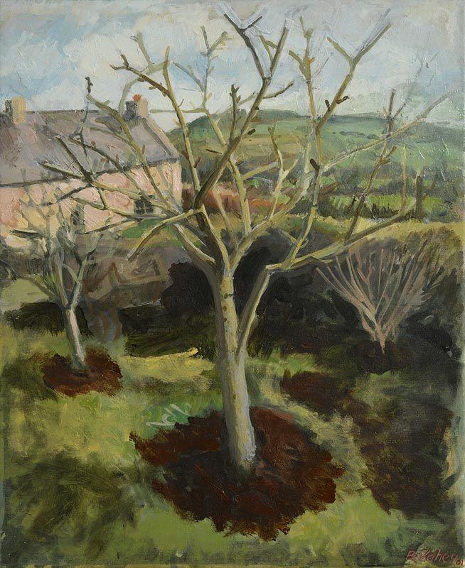 Brian Vahey, Pruned Apple Trees (2001) at Morgan O'Driscoll Art Auctions