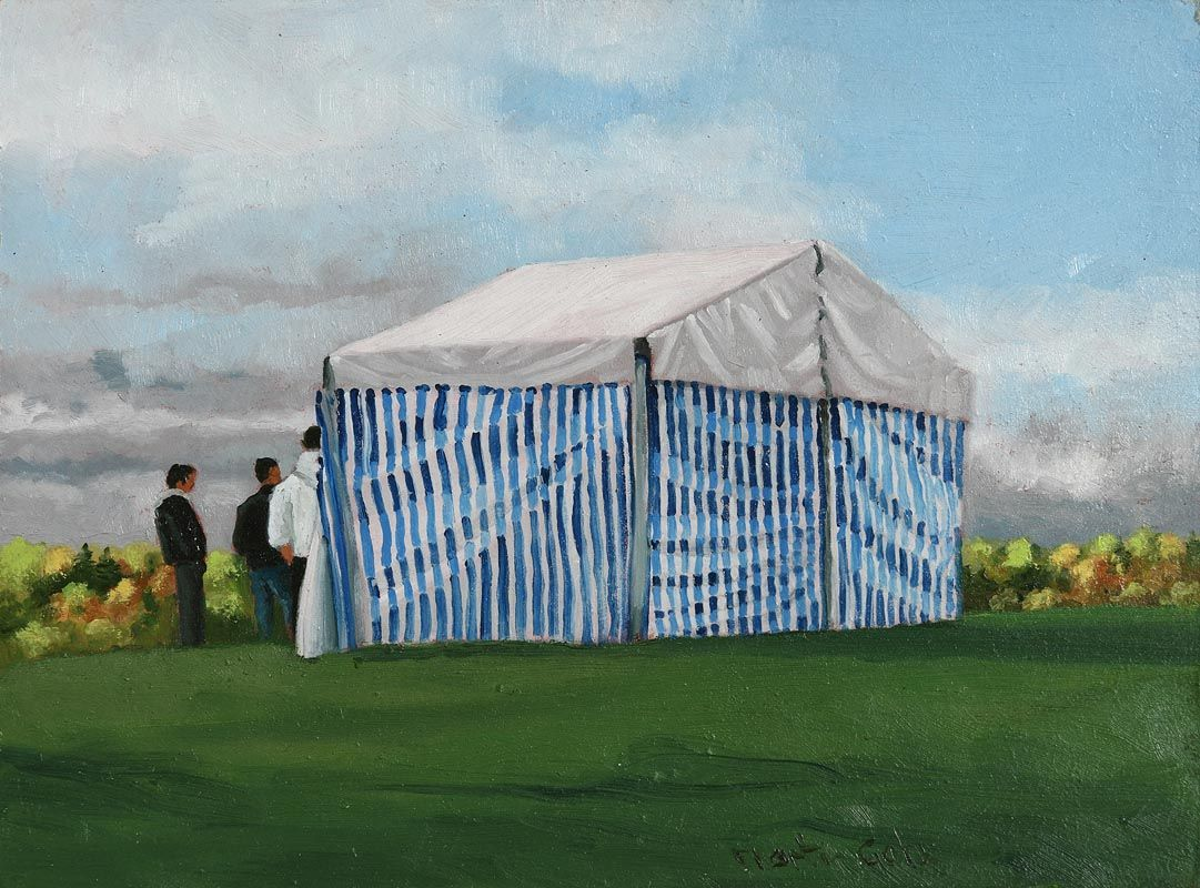 Martin Gale, The Garden Party at Morgan O'Driscoll Art Auctions