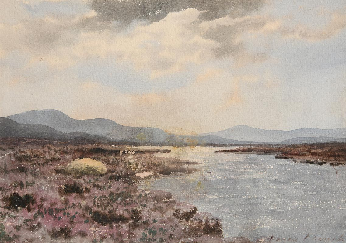 Percy French, Connemara Lake at Morgan O'Driscoll Art Auctions