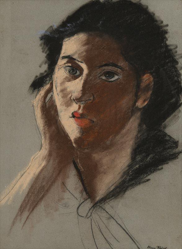 Nano Reid, Portrait of a Young Lady at Morgan O'Driscoll Art Auctions