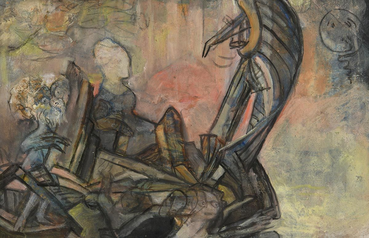 Mary Swanzy, Le Reve at Morgan O'Driscoll Art Auctions