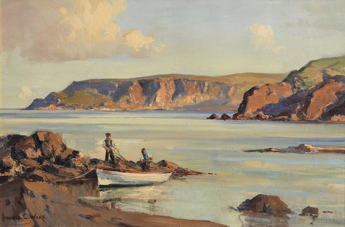 Maurice Canning Wilks, Point of Garron, Co. Antrim at Morgan O'Driscoll Art Auctions