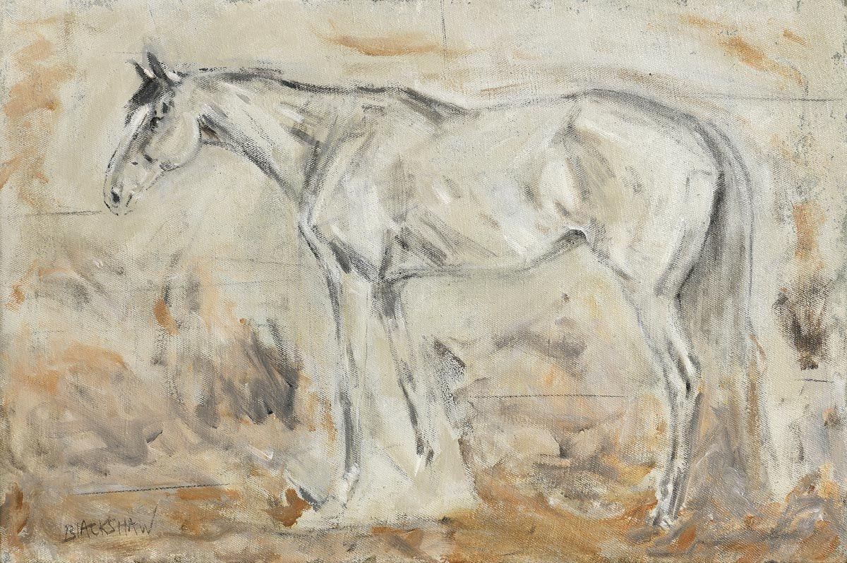 Basil Blackshaw HRHA RUA (1932-2016), Grey Chaser at Morgan O'Driscoll Art Auctions